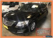 2008 Toyota Aurion GSV40R AT-X Black Automatic 6sp A Sedan for Sale
