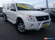 2007 Holden Rodeo RA MY07 LTZ White Manual 5sp M Crewcab for Sale