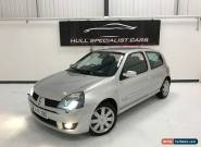 2005 RENAULT CLIO 182 RENAULTSPORT 2.0 16V MANUAL NO RESERVE for Sale