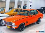 1971 Holden Torana LC GTR Orange Manual 4sp M Sedan for Sale