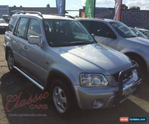 Classic 2000 Honda CR-V (4x4) Sport Silver Automatic 4sp A Wagon for Sale