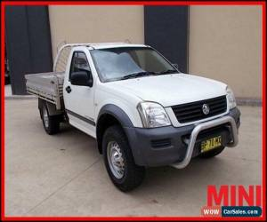 Classic 2003 Holden Rodeo LX White Manual M Cab Chassis for Sale