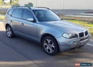 2005 BMW X3 E83 MY05 4WD 112kms 5spd AUTO 3.0L CHEAP LIGHT HAIL NO RESERVE  for Sale