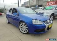 2007 Volkswagen Golf V MY08 R32 Blue Manual 6sp M Hatchback for Sale