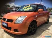 2006 Suzuki Swift EZ S Atomic Orange Manual 5sp M Hatchback for Sale