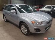 2014 Mitsubishi ASX wagon auto  60km very light damage ideal for export drives for Sale