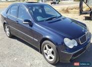 2003 MERCEDES BENZ C200 KOMPRESSOR AUTO SC LIGHT DAMAGED HAIL REPAIRABLE DRIVE for Sale