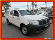 2012 Toyota Hilux TGN16R MY12 Workmate White Automatic 4sp A 4D UTILITY for Sale