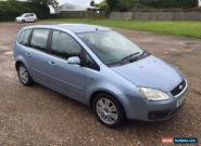 2005 Ford Focus C-MAX Ghia 1.6 TDCI Turbo Diesel In Blue 123K Miles - MOT March for Sale