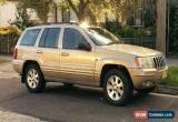 Classic 2001 Jeep Grand Cherokee Wagon (Gold) for Sale