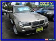 2007 BMW X3 E83 MY07 3.0SI Gold Automatic 6sp A Wagon for Sale