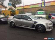 2006 Holden Commodore VE SV6 Silver Automatic 5sp A Sedan for Sale