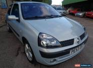 2003 RENAULT CLIO 1.2 DYNAM BILLABONG 16V SILVER for Sale