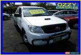Classic 2009 Toyota Hilux KUN16R 09 Upgrade SR White Manual 5sp M Cab Chassis for Sale