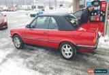 Classic BMW: 3-Series cabriolet european edition for Sale