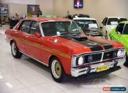 1970 Ford Fairmont XY Track Red Manual 4sp M Sedan for Sale