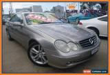 Classic 2003 Mercedes-Benz CLK320 C209 Avantgarde Bronze Automatic 5sp A Coupe for Sale