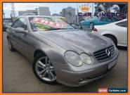 2003 Mercedes-Benz CLK320 C209 Avantgarde Bronze Automatic 5sp A Coupe for Sale