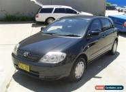 TOYOTA COROLLA 02/2002 AUTOMATIC POWER STEER AIR CON REGO 07/2017 186OOOKL CHEAP for Sale