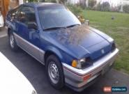 Honda: CRX 1300 for Sale