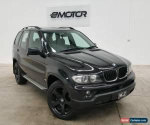 Classic 2004 BMW X5 E53 Black Sports Automatic Wagon for Sale