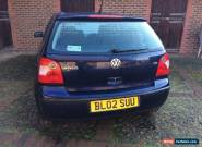 volkswagen polo s 1.2 2002 for Sale
