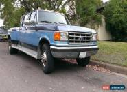 1987 FORD F350 CREW CAB DUALLY 2 OWNER NO RUST EVER for Sale