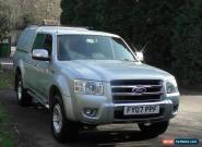 2007 FORD RANGER THUNDER D/C 4WD SILVER for Sale