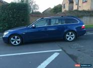 BMW 525D SE TOURING BLUE DRIVE WELL MOT MAY 2016 for Sale