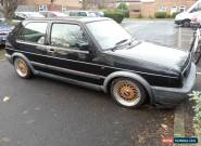 VW golf mk2 16v gti black project spares or repair for Sale