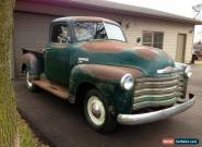 1950 Chevrolet Other Pickups 1/2 TON for Sale