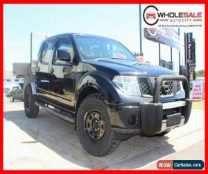 Classic 2010 Nissan Navara ST-X Black Automatic A Utility for Sale