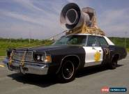 1976 Dodge Monaco Police Squad Car Tribute for Sale