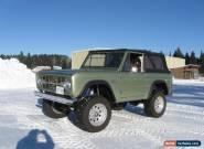 1969 Ford Bronco Bronco for Sale