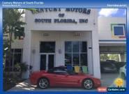 2001 Chevrolet Corvette Base Convertible 2-Door for Sale