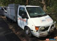 Ford Transit Ute for Sale