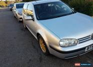 2003 VOLKSWAGEN GOLF MATCH SILVER 1.4L PETROL - MANUAL - BBS ALLOYS for Sale