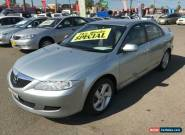 2003 Mazda 6 GG Classic Silver Manual 5sp M Hatchback for Sale