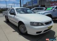 2006 Ford Falcon BF Mk II XL White Automatic 4sp A 2D Cab Chassis for Sale