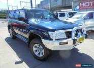 2004 Nissan Patrol GU IV MY05 ST-S Blue Automatic 5sp A Wagon for Sale