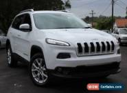2015 Jeep Cherokee LONGITUDE Longitude White Automatic 4sp A 4DWAGON for Sale
