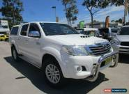 2012 Toyota Hilux KUN26R MY12 SR5 White Automatic 4sp A 4D UTILITY for Sale