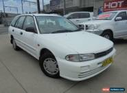 1999 Mitsubishi Lancer CE II GLXi White Manual 5sp M Wagon for Sale