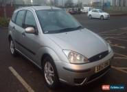 2002 FORD FOCUS LX 1.4 PETROL 5DR SILVER HATCHBACK  for Sale