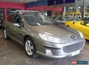 2008 Peugeot 407 MY07 ST HDI Touring Bronze Metallic Automatic 6sp A Wagon for Sale