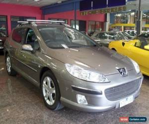 Classic 2008 Peugeot 407 MY07 ST HDI Touring Bronze Metallic Automatic 6sp A Wagon for Sale