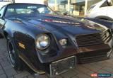 Classic 1981 Chevrolet Camaro for Sale