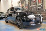 Classic 2008 Alfa Romeo GT Selespeed JTS Black Automatic 5sp A Coupe for Sale