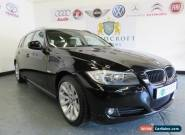 BMW 3 SERIES 2.0 318D SE TOURING 2010 Diesel Manual in Black for Sale