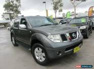 2005 Nissan Pathfinder R51 TI Grey Automatic 5sp A Wagon for Sale